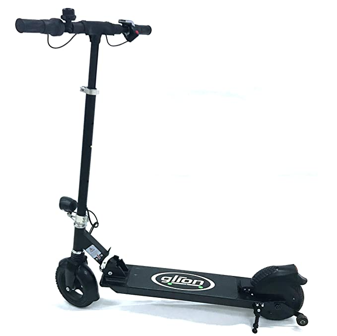 Glion Dolly Foldable Lightweight Adult Electric Scooter w/ Premium Li-Ion Battery