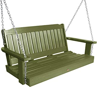 product image for highwood AD-PORL2-SGE Lehigh Porch Swing, 4 Feet, Dried Sage