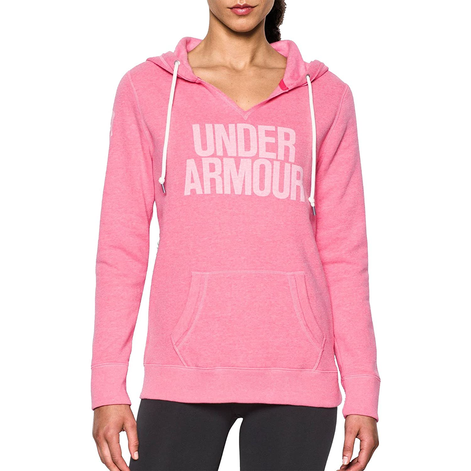 Under Armour Favorite Fleece Hoodie Top de Manga Larga, Mujer
