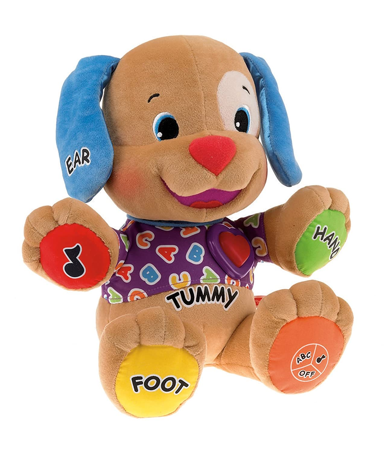 FISHER PRICE LAUGH LEARN PUPPY DOG BABY CRIB TOY | eBay