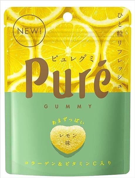 Amazon | カンロ ピュレグミ レモン 56g×6袋 | カンロ | 食品・飲料 ...
