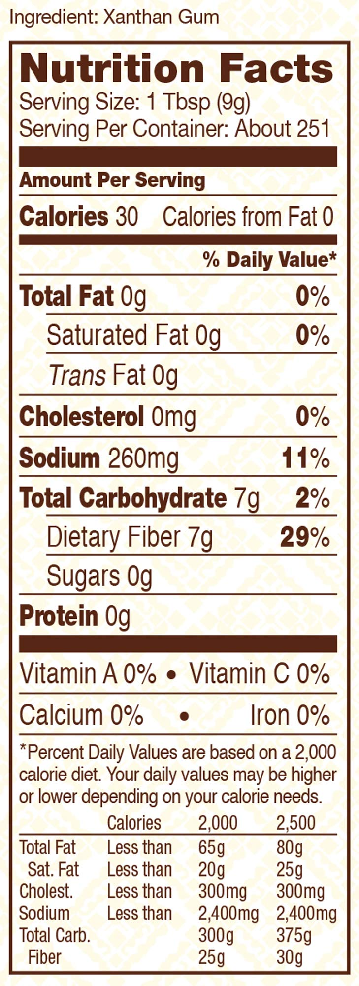 Bob's Red Mill Gluten Free Xanthan Gum, 5 Pounds by Bob's Red Mill (Image #2)