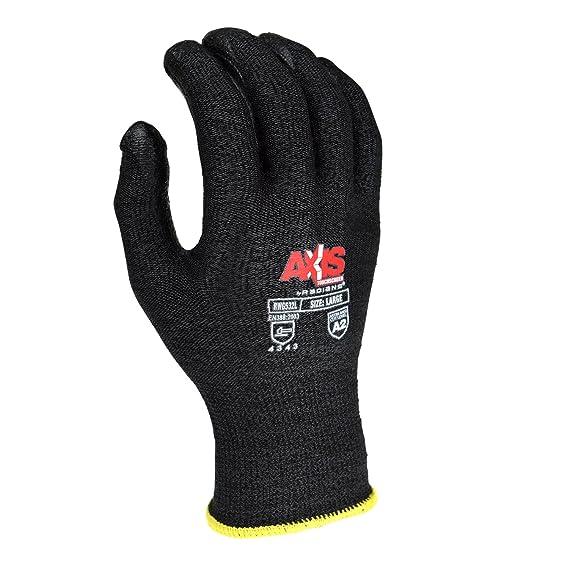 Radianes rwg532 Axis pantalla táctil resistente al corte guantes S, M, L, XL