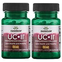 Swanson Uc-Ii Standardized Collagen 10 mg 60 Caps 2 Pack