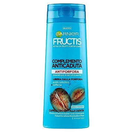 Garnier Fructis complemento Anticaída Champú Anticaspa para Cabello tendenti Alla caída, 250 ml – [