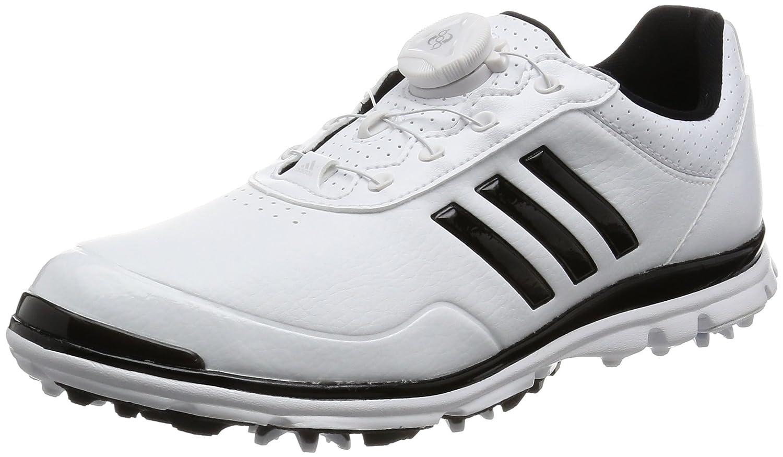 [アディダスゴルフ] ゴルフシューズ スパイク ウィメンズ adistar lite Boa adistar lite Boa B01N6HHUQI 25.0 cm|ホワイト/コアブラック/コアブラック ホワイト/コアブラック/コアブラック 25.0 cm