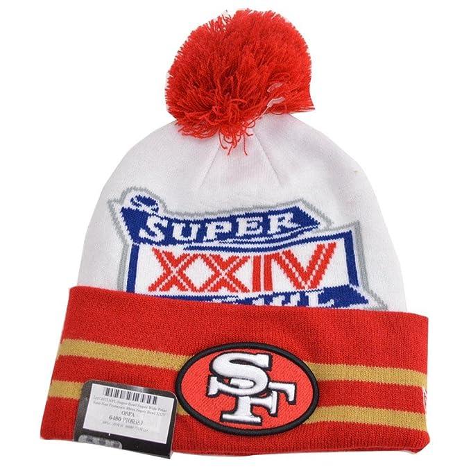 bc3024909 Amazon.com: San Francisco 49ers New Era Super Wide Point Super Bowl ...