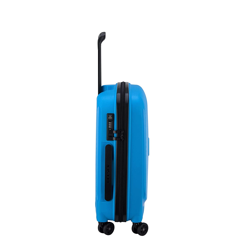 5f184bd61 DELSEY Paris Belmont Plus Maleta, 55 cm, 33 litros, Azul Metalico:  Amazon.es: Equipaje