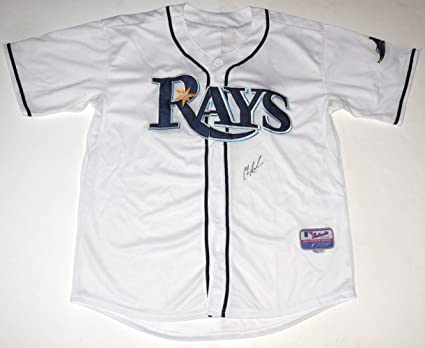 f6abb8500 Chris Archer Autographed Jersey (Rays) at Amazon s Sports ...