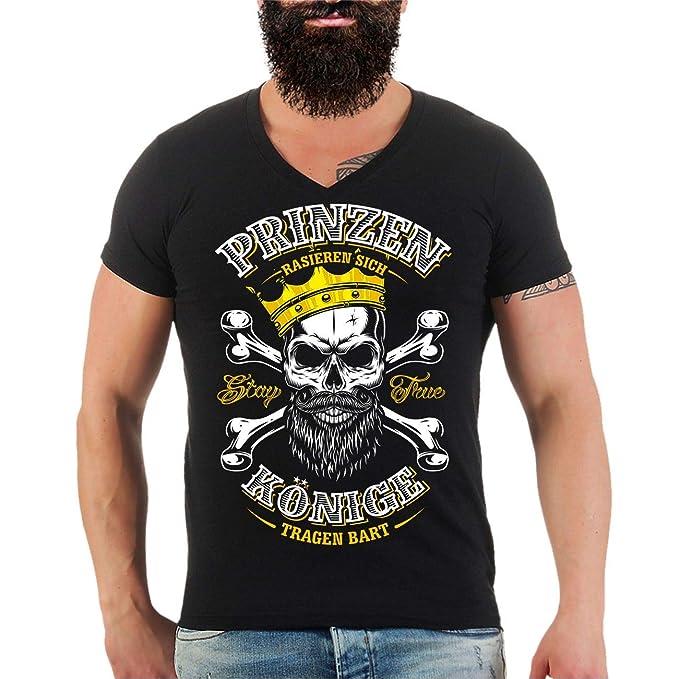 Männer und Herren T-Shirt Könige Tragen Bart Größe S - 8XL  Amazon.de   Bekleidung 3614d13ca2