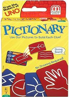 Mattel Pictionary Card Game by: Amazon.es: Juguetes y juegos