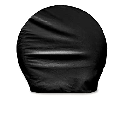 "ADCO 3977 Black BUS Vinyl Ultra Tyre Gard Wheel Cover, (Set of 2) (Fits Tire Diameter 40""-42""): Automotive"