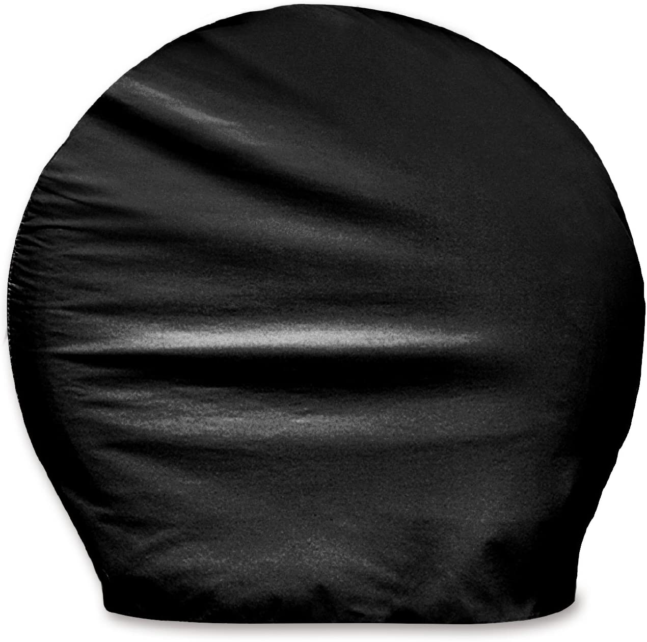 "ADCO 3977 Black BUS Vinyl Ultra Tyre Gard Wheel Cover, (Set of 2) (Fits Tire Diameter 40""-42"")"