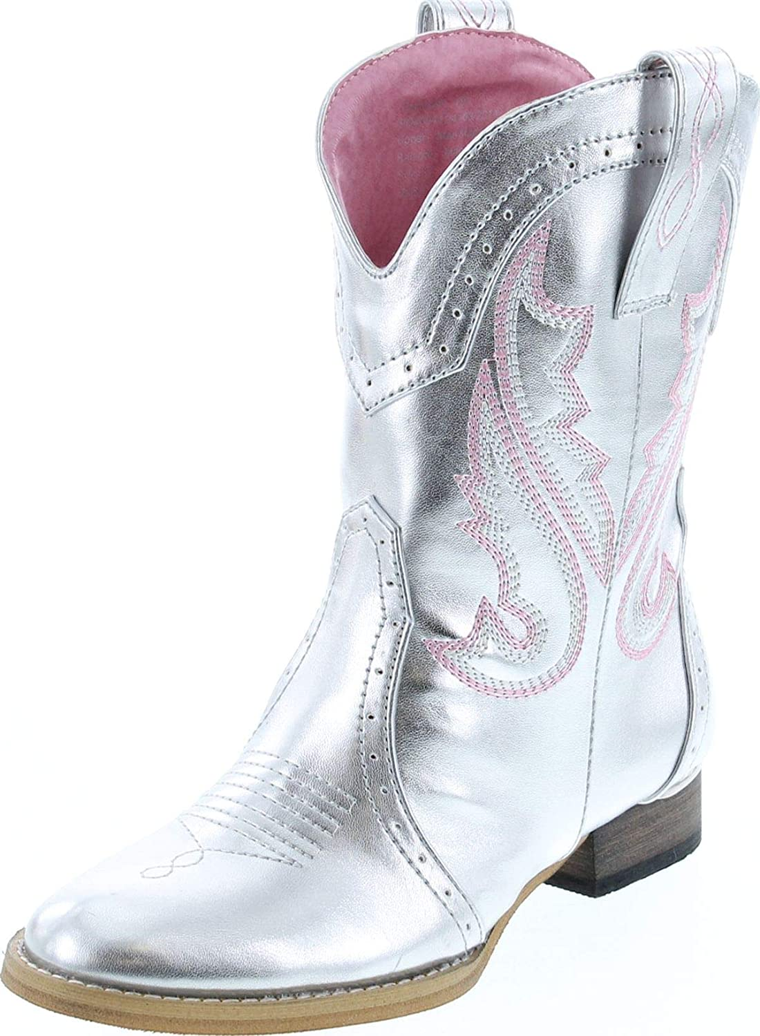 girls silver boots