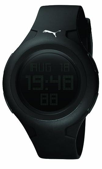e2e6da2d6 Puma PU910441001 - Reloj digital de cuarzo para mujer con correa de caucho