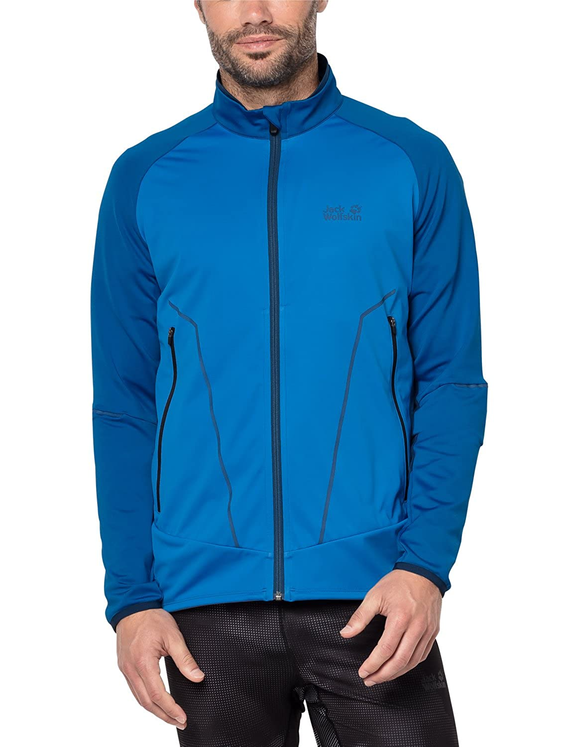 Jack Wolfskin Gravity Trail Fleece Small Electric Blue at