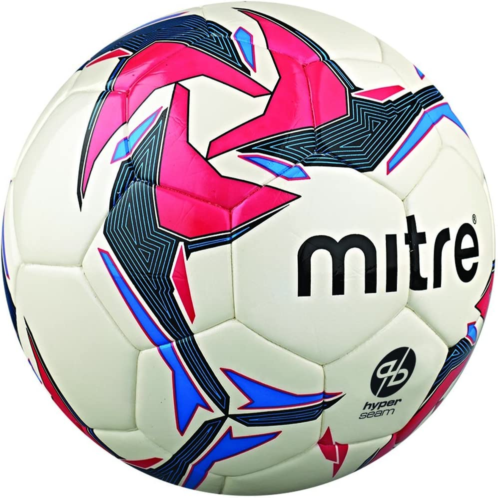 Mitre Pro Futsal Match Ball - White/Red/Black, Size 4: Amazon.es ...