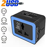 Lurico All-in-One 2.4-Amp Travel Adapter