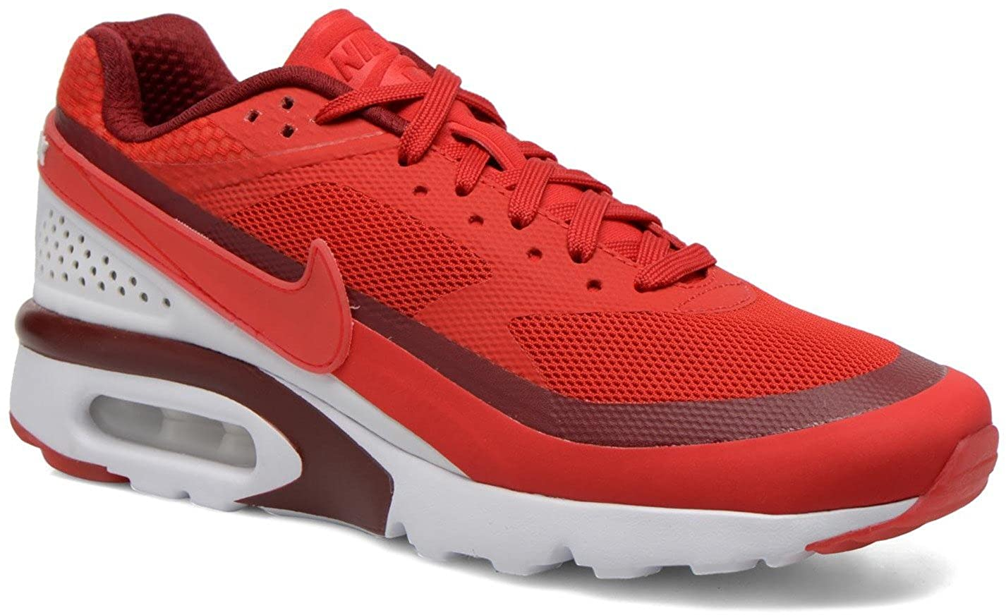 fecd6a370b Amazon.com | Nike Air Max BW Ultra Running Shoes 7.5 University Red, Bright  Red 819475-616 | Running