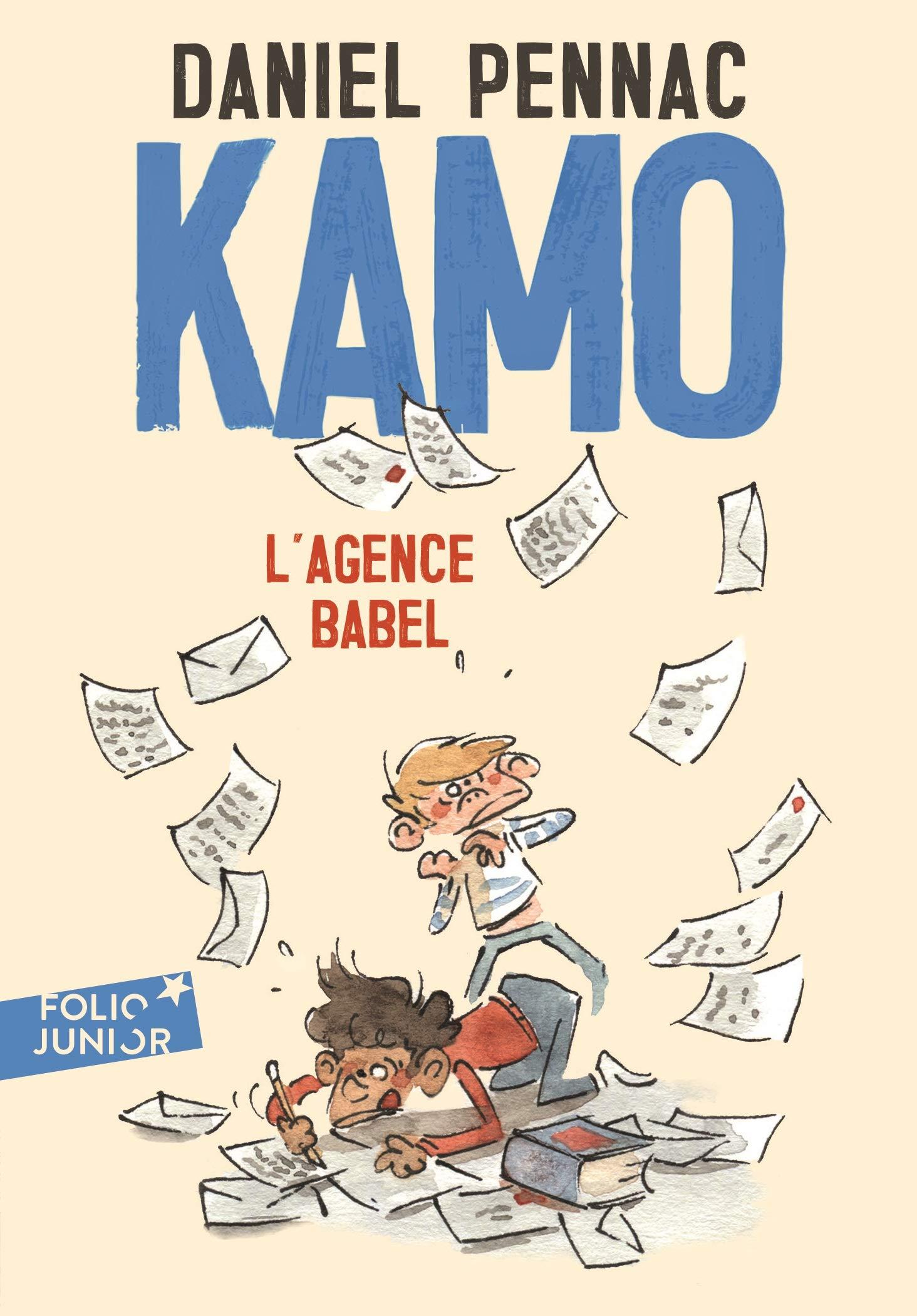 Amazon.fr - Une aventure de Kamo, 3 : Kamo. L'agence Babel - Daniel Pennac,  Benjamin Renner - Livres