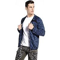 Xin Hui Bao Men's Windproof Softshell Zip-Front Jacket Winter Outerwear