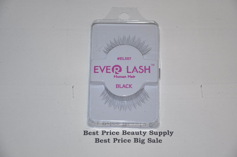 Amazon Ever Lash Human Hair Black Eyelashes El 507 Beautiful