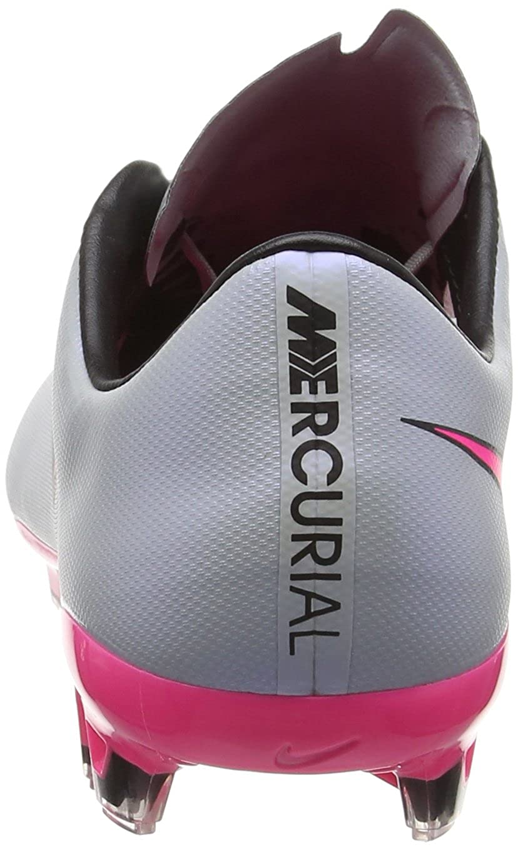 e7a102cdc Amazon.com   Nike Mens Mercurial Vapor X FG Firm Ground Soccer Cleats 13  US, Wolf Grey/Black/Pink   Soccer