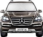 HIPPIH Decor Car Windshield Sun Shade with 2 Ears - Auto