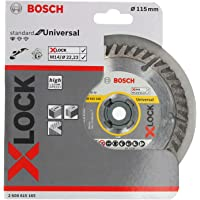 Bosch Professional Diamantdoorslijpschijf Standard (universeel, X-LOCK, boringsØ: 22,23 mm, snijbreedte 2 mm) Ø 115 mm