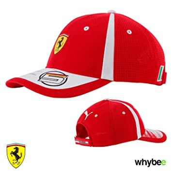 Scuderia Ferrari Formula One Team 2018 Sebastian Vettel F1 Driver Cap 5 Puma fb51da3527d