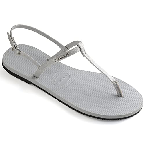 167a914a53913 Havaianas You Riviera Ice Grey UK 8-9  Amazon.co.uk  Shoes   Bags