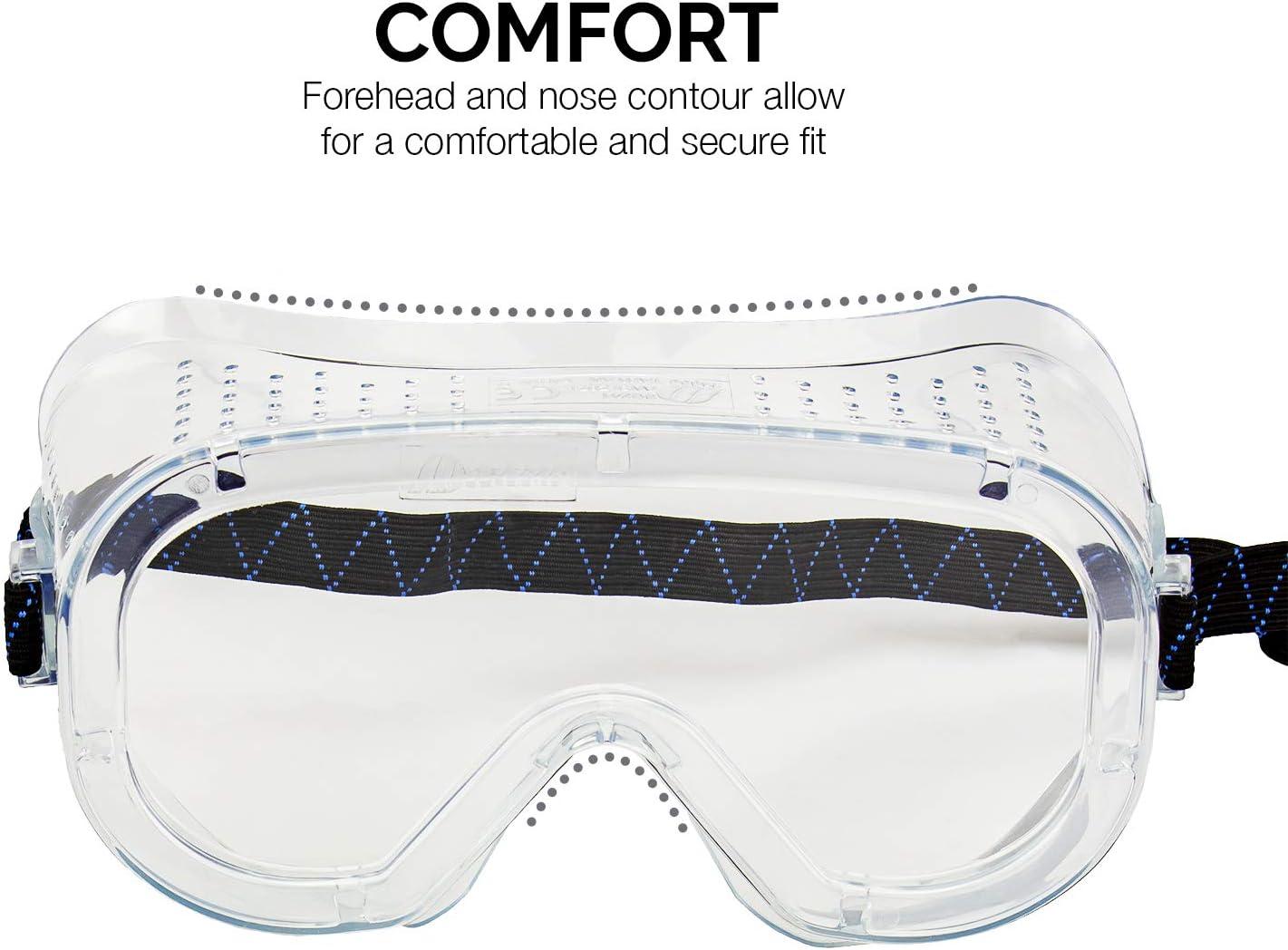 Amazon.com: Neiko 53829A - Gafas de seguridad de laboratorio ...