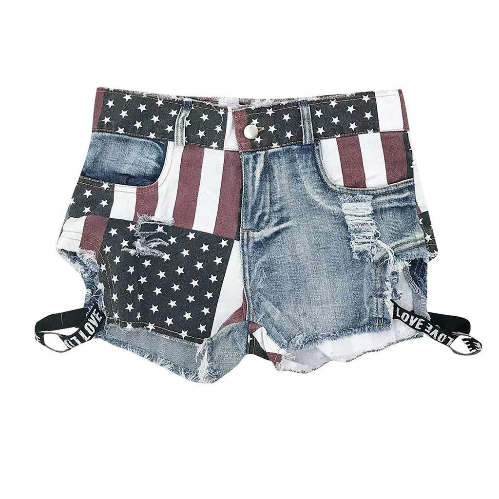 Elecenty Mini Shorts Pantaloni Jeans Donna Vita Alta Denim Jeans Pantalone Cerimonia Hot Pants