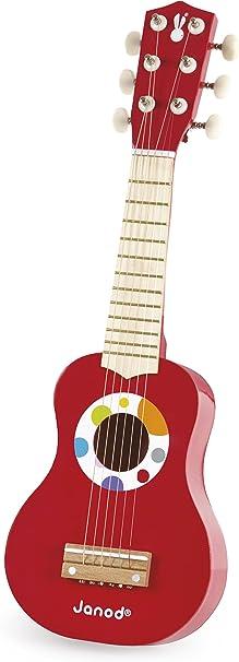 Janod - Mi primera guitarra de juguete, Confetti (J07628): Amazon ...