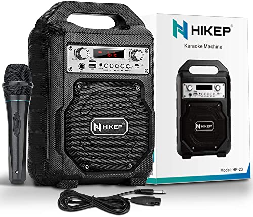 HIKEP Portable Karaoke Machine