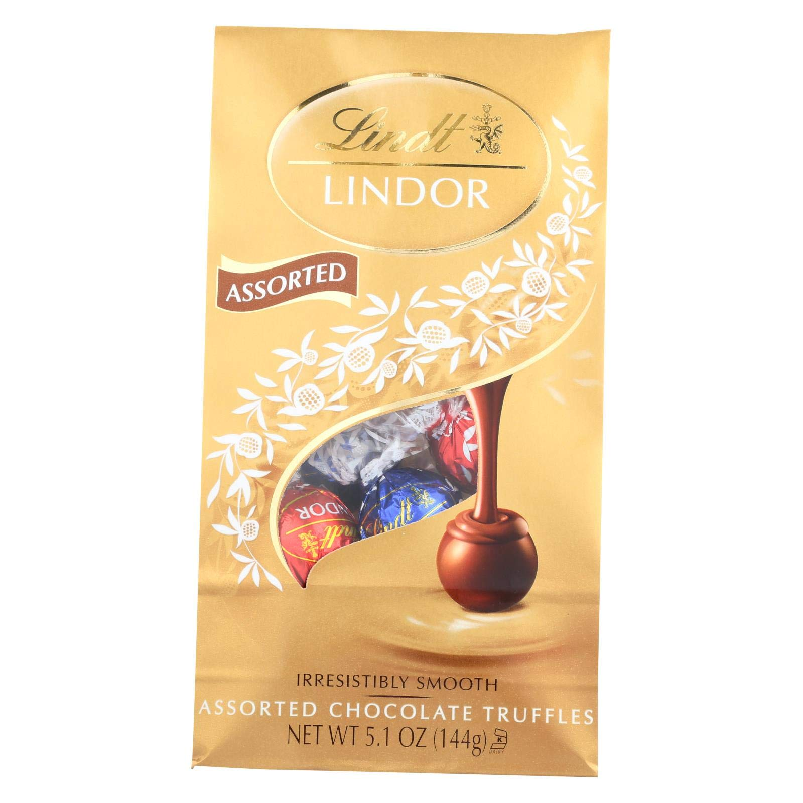 Lindt LINDOR Assorted Chocolate Truffles 120 Count