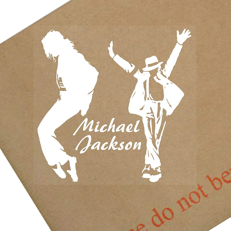 Michael Jackson Fenster Sticker 87 Mm Auto Lkw Kfz Vinyl Selbstklebend Design 1 Stück