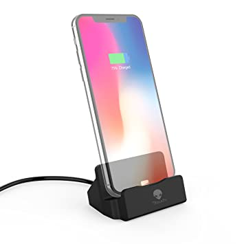 new concept 564b6 0e647 iPhone Docking Station, Stouchi iPhone dock Lightning Dock iPhone Stand for  iPhone 8,iPhone 8 Plus iPhone...