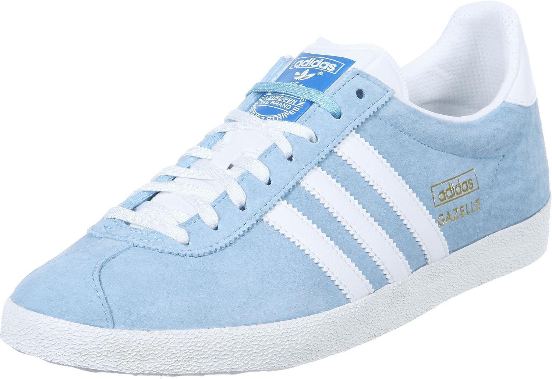 Adidas Gazelle Og Trainers Blue 10 UK