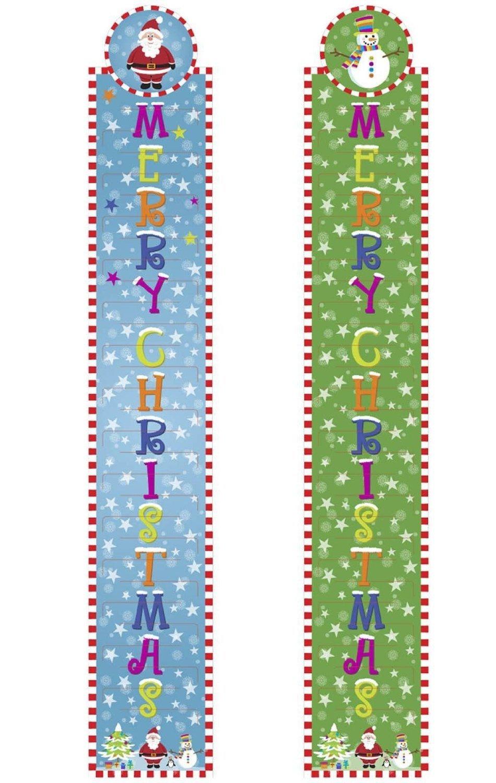 2 Cute Christmas Xmas Card Holders (Each Holds 30 Cards) Concept4u
