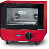 Dash DMTO100GBRD04 Mini Toaster Oven Cooker for Bread, Bagels, Cookies, Pizza, Paninis & More with Baking Tray, Rack…