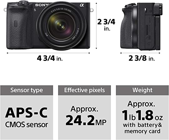 Sony ILCE6600/B product image 5