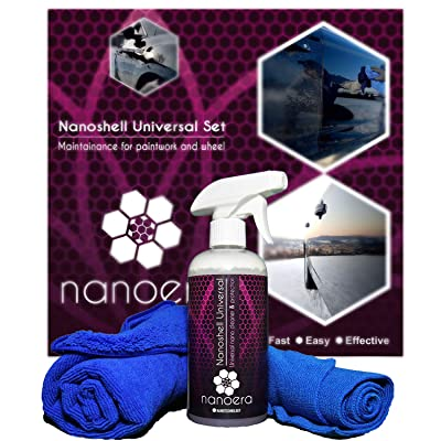 NANOERA, s.r.o. Nanoshell Universal Set 250 ml - Maintainance for paintwork and disks Nanotechnology Product: Automotive
