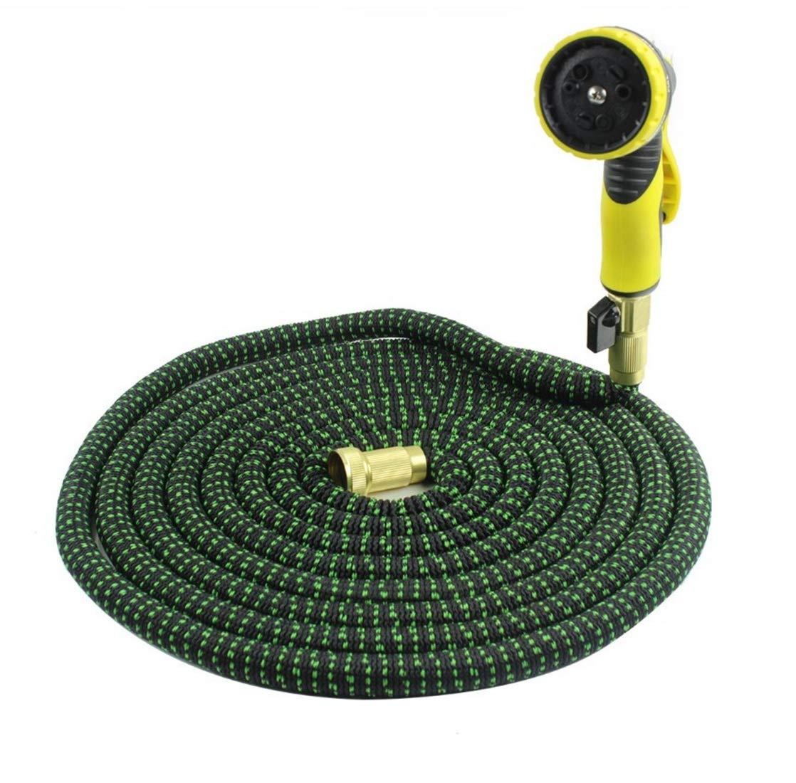 Funytine 25 (FT) Prato Giardino Ideale per irrigazione, Tubo da Giardino e Set di nebulizzatori per Lavaggio Auto Animali Domestici (Colore   75FT)