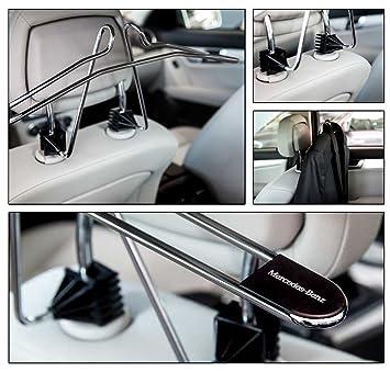Original de Mercedes Benz auto coche Viaje perchas para reposacabezas: Amazon.es: Coche y moto