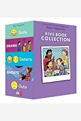 Raina Telgemeier Collection Box Set (Smile, Drama, Sisters, Ghosts, Guts) Paperback