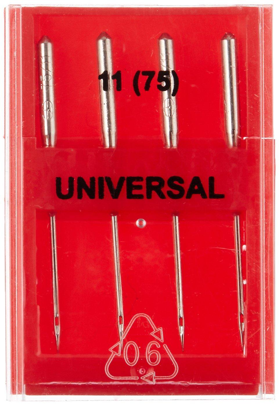 Dritz 4-Piece Universal Machine Needles Size 18