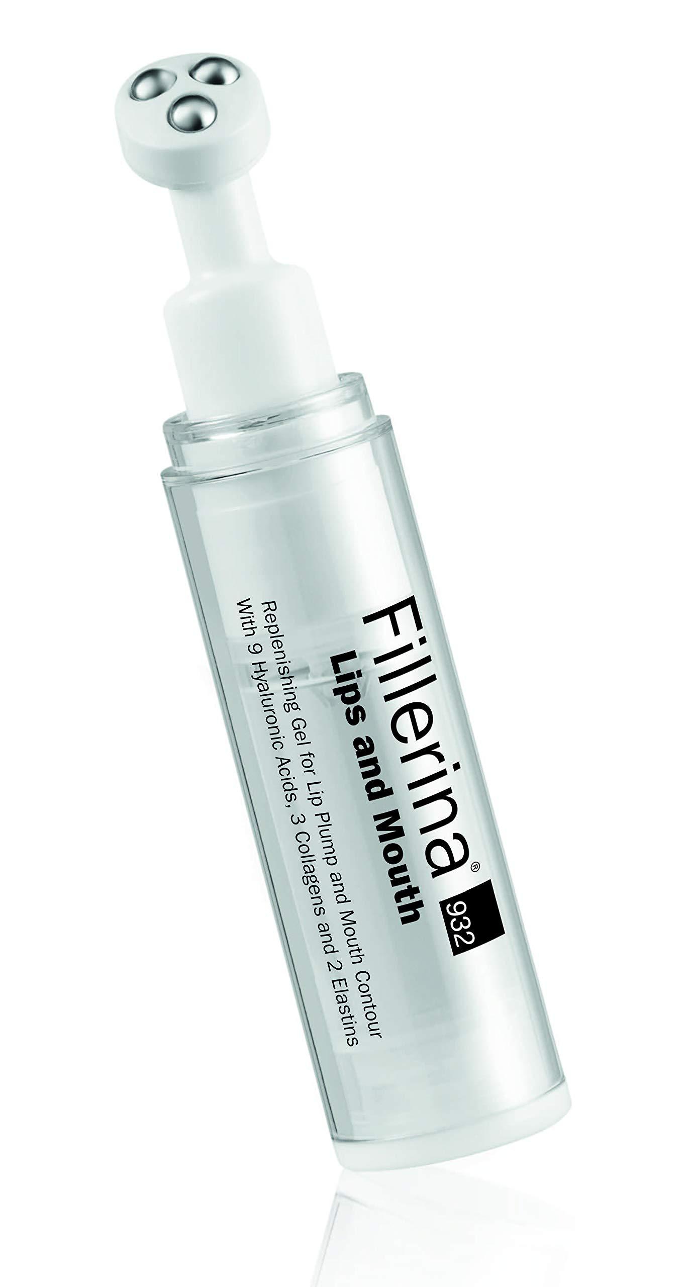 Fillerina 932 Lips and Mouth - Lip Treatment with Hyaluronic Acid and Collagen - Gradual Lip Plump That Reduces Lines Around The Mouth - New Formula (Grade 5)