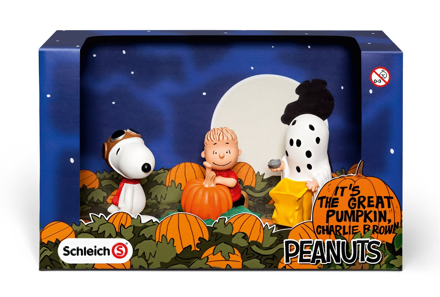 Amazon.com: Schleich Peanuts Halloween Scenery Pack: Toys & Games