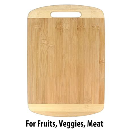 4ff69784e Buy Flyngo Wooden Bamboo Kitchen Chopping Cutting Slicing Board with Holder for  Fruits Vegetables Meat Online at Low Prices in India - Amazon.in